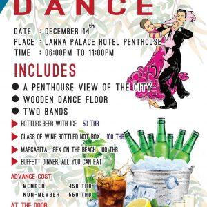 Holiday Dance Chiang Mai Expats Club ChiangMaiExpatsClub