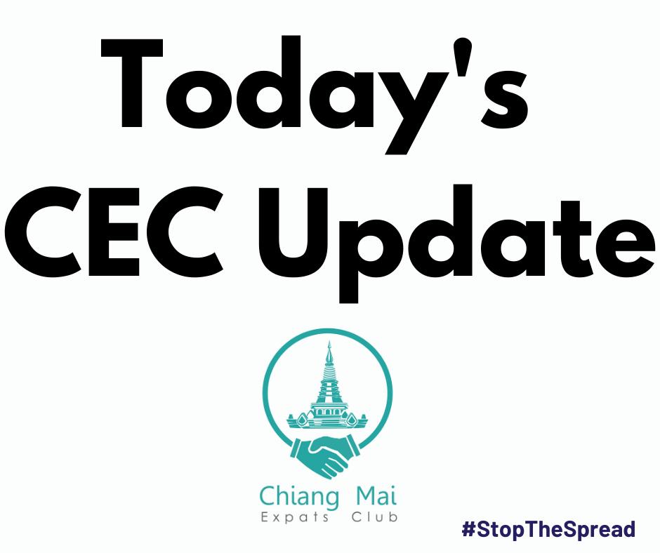 Chiang Mai Expats Club ChiangMaiExpatsClub Todays CEC Update